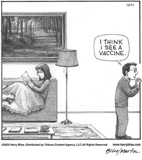 I think I see a vaccine...