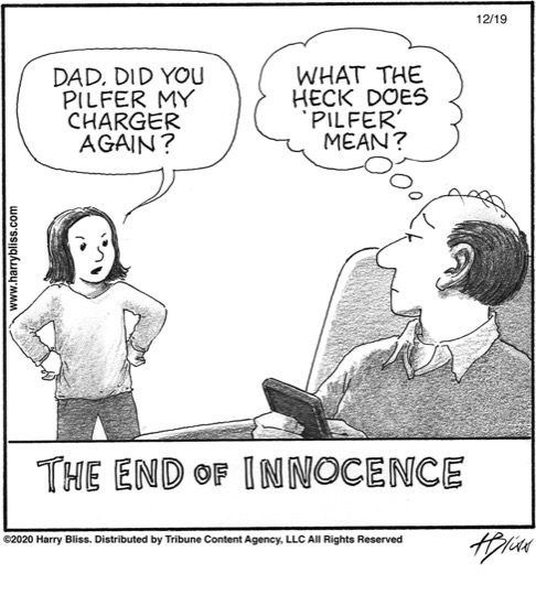 The end of innocence...