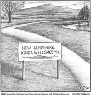 New Hampshire kinda