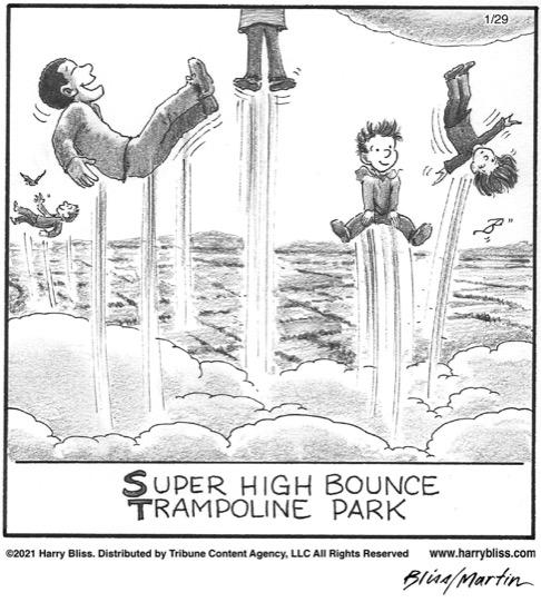 Super high bounce