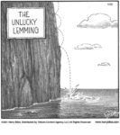 the unlucky lemming...