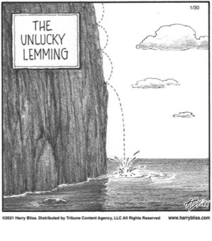 the unlucky lemming