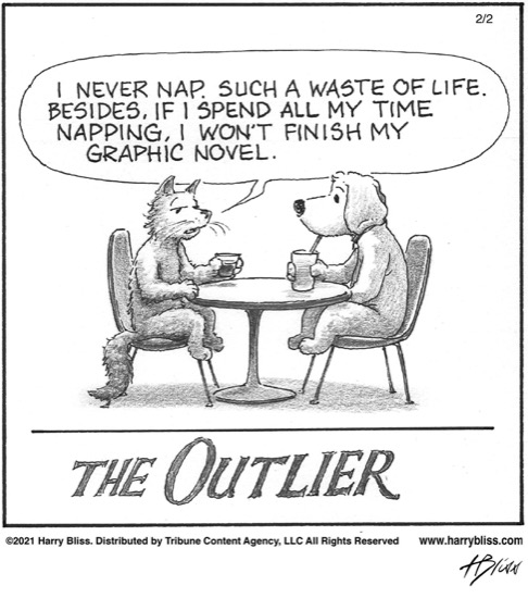 The Outlier…