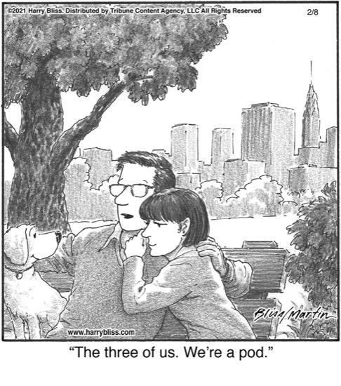 The three of us…