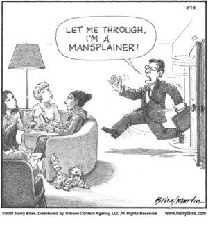 Mansplainer…