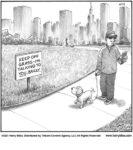 Keep off grass…...