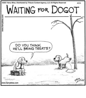 Waiting for Dogot…