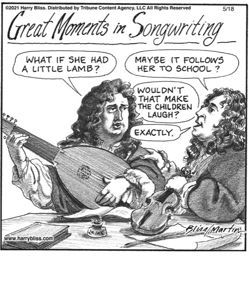 Great moments in songwriting…