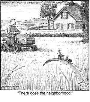 There goes the neighborhood.…