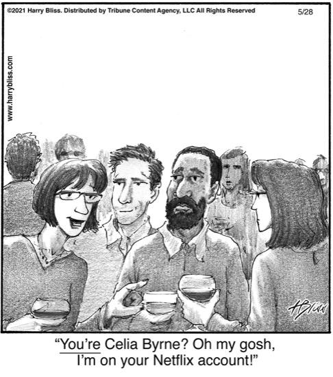 You're Celia Byrne?…