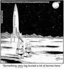 Something VERY big buried…...