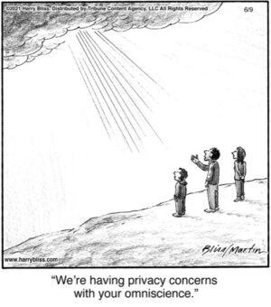 We're having privacy concerns.…