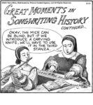Great moments in songwriting history, continued…...