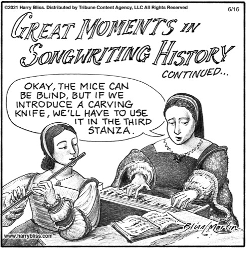 Great moments in songwriting history