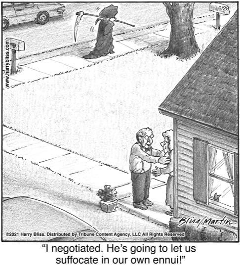 I negotiated...