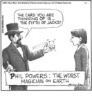 The worst magician on earth…...