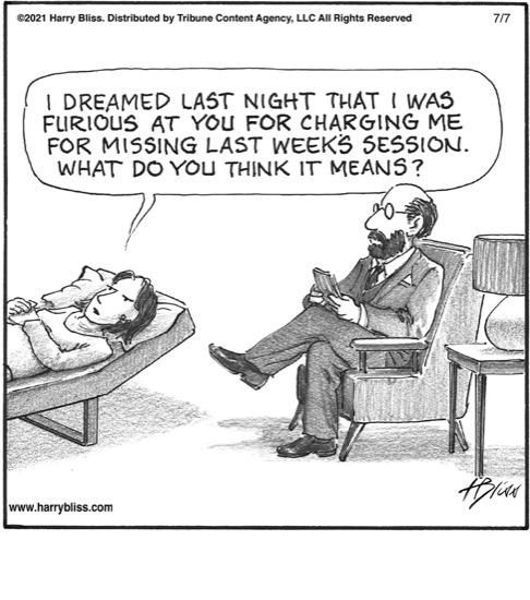 I dreamed last night…