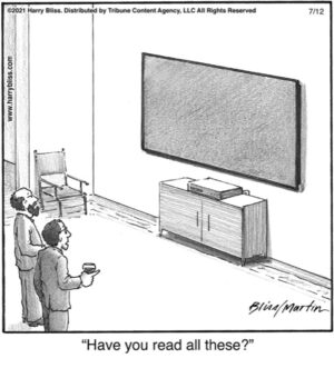 Have you read all these?..
