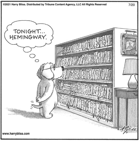 Tonight… Hemingway…