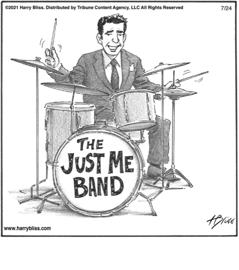 The Just me band…