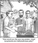 How would you like your soy protein…...