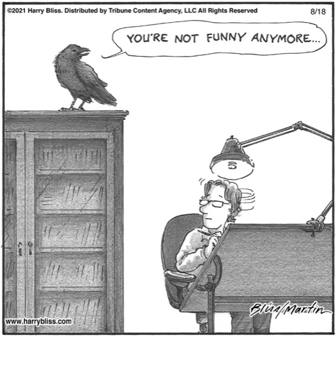 You're not funny anymore..…